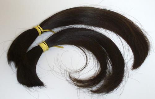 自毛かつらに使える髪