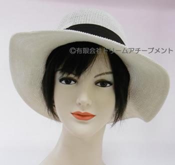 かつらを着けて帽子を被りたい時