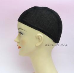 かつらガーゼキャップ黒